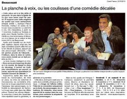 « La terrasse », Ouest-France 23/10/2014